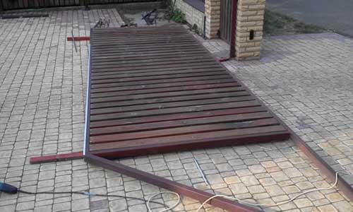 Демонтаж ворот