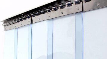 ПВХ завеса ш2500 в2500 (морозостойкая полоса 2х200мм)