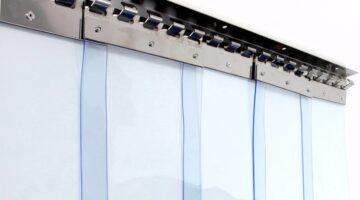 ПВХ завеса ш3000 в3000 (морозостойкая полоса 3х300мм)