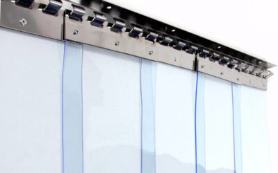 ПВХ завеса ш2500 в2500 (морозостойкая полоса 3х300мм)