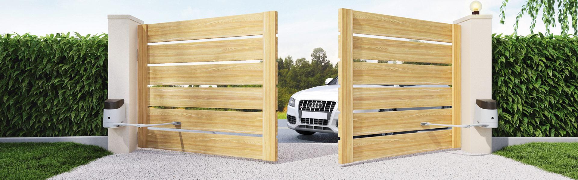 Надёжные и практичные ворота для вашего дома