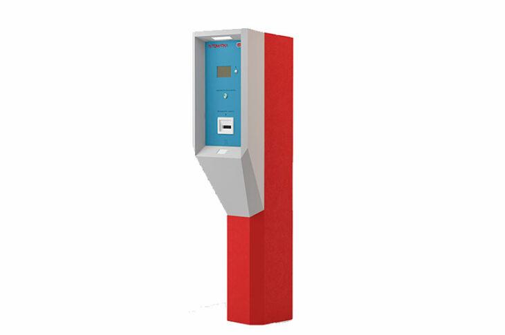 Въездная стойка Card Park Premium-ENT